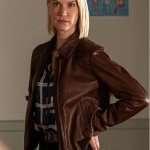 Frankie Drake Mysteries S03 Lauren Lee Smith Bomber Jacket