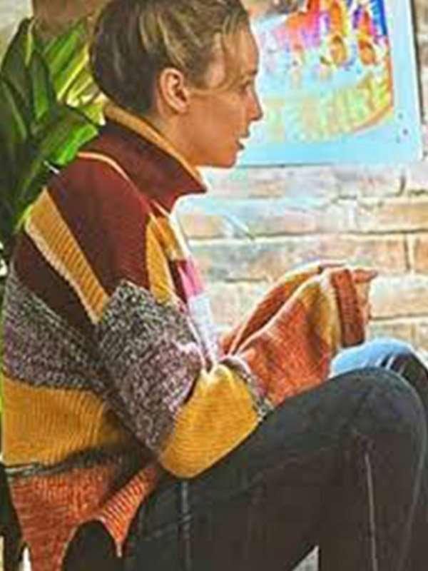 Free Guy 2021 Milly Woolen Striped Sweater