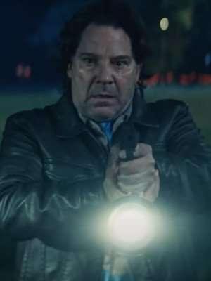 Halloween Kills 2021 Lonnie Elam Black Leather Jacket