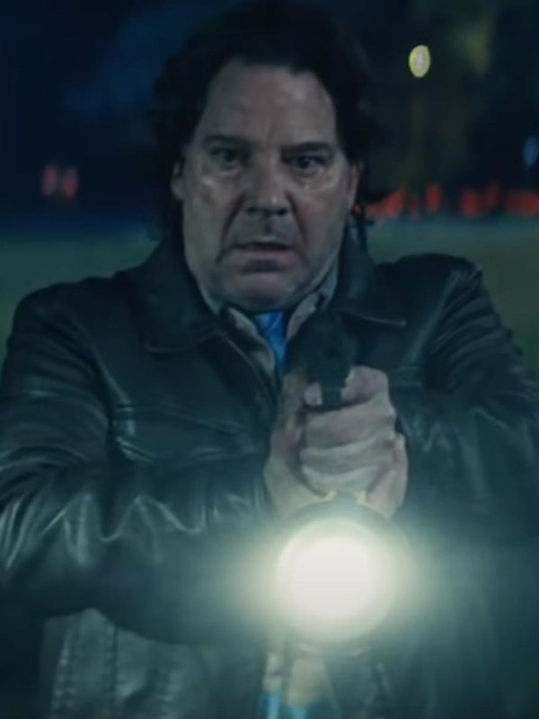 Halloween Kills 2021 Robert Longstreet Leather Jacket