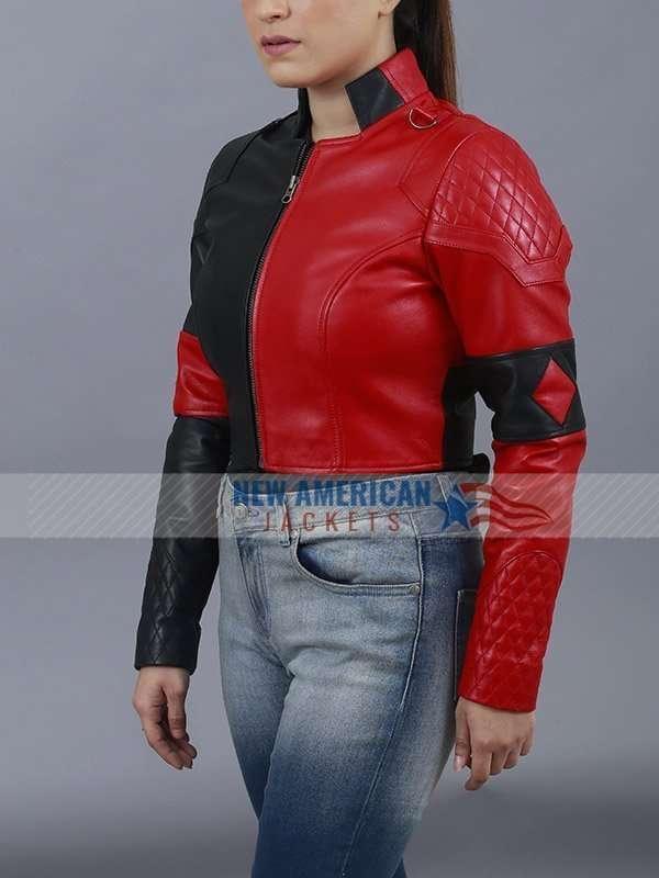 Hareley Quinn Leather Jacket