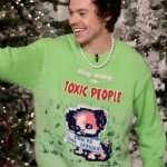 Harry Styles Green Sweater