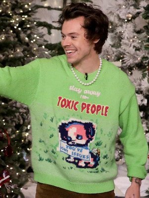 Harry Styles Stay Away From Toxic People Sweater
