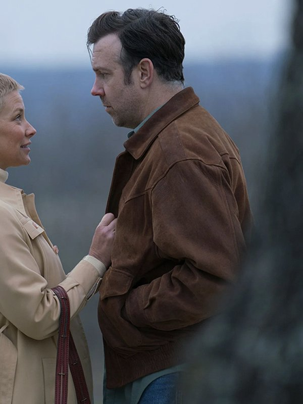 Jason Sudeikis South of Heaven Brown Suede Jacket