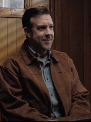Jason Sudeikis South of Heaven Brown Suede Leather Jacket