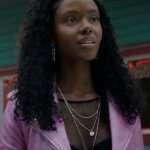Josie McCoy Riverdale Ashleigh Murray Pink Jacket