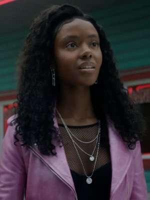 Riverdale Betty Josie McCoy Pink Leather Jacket