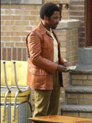 Leslie Odom Jr. in The Many Saints of Newark Brown Jacket