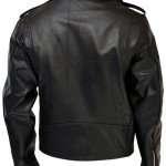 Men's Black Biker Classic Leather Jacket