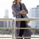 My Life Is Murder Alexa Crowe Trench Coat