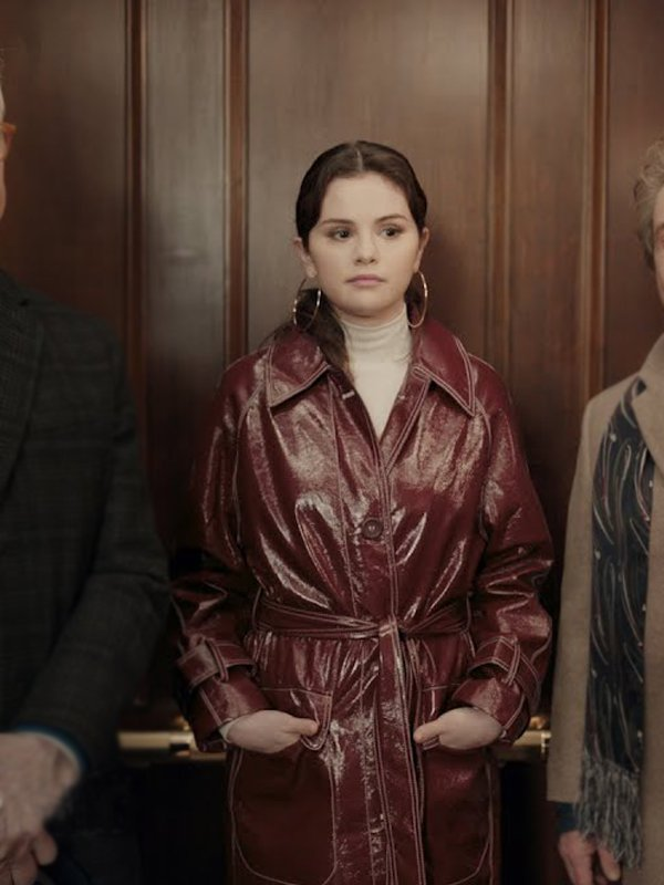 Only-Murders-in-the-Building-Selena-Gomez-Leather-Coat