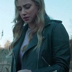 Riverdale Betty Cooper Green Leather Jacket