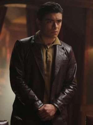 Riverdale Teen Hiram Lodge Leather Jacket