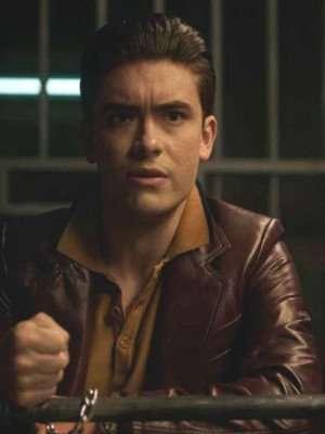 Riverdale Season 5 Michael Consuelos Brown Leather Jacket