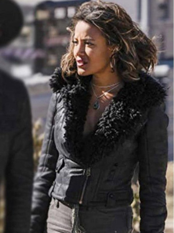 Roswell, New Mexico S03 Heather Hemmens Black Leather Jacket