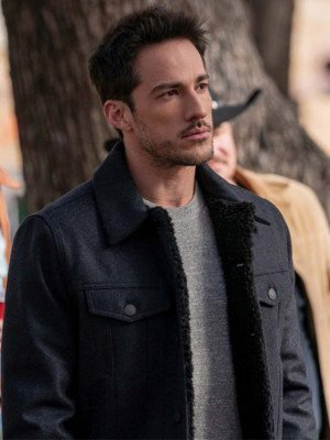 Michael Trevino Black Jacket
