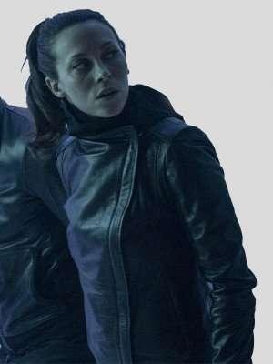 Titans Seaoson 3 Barbara Gordon Black Leather Jacket
