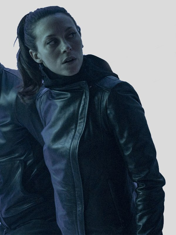 Savannah Welch Titans Season 3 Barbara Gordon Leather Jacket