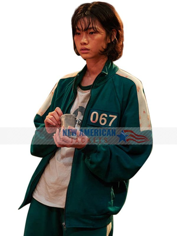 Squid Game Green Tracksuit