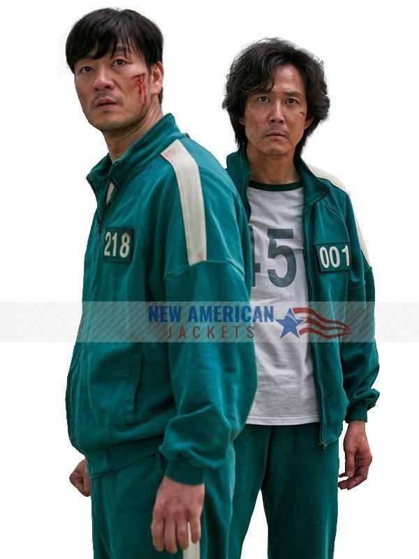 Squid Game Green Tracksuit Jacket