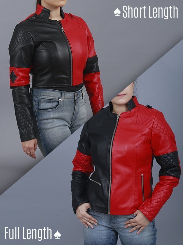 Suicide Squad 2 Harley Quinn Costume Jackets