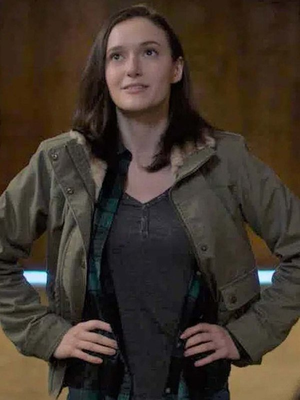 Supergirl S06 Chyler Leigh Gray Cotton Jacket