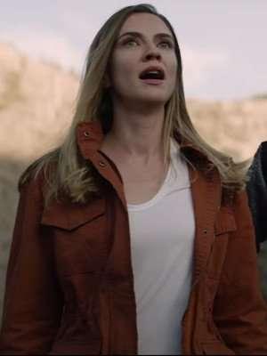 Superhost 2021 Claire Brown Cotton Jacket