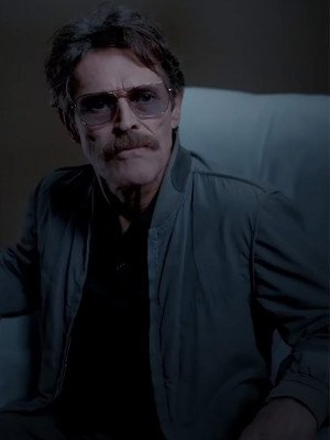 The Card Counter Willem Dafoe Bomber Jacket