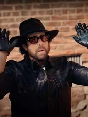 The Equalizer S02 Adam Goldberg Black Leather Jacket