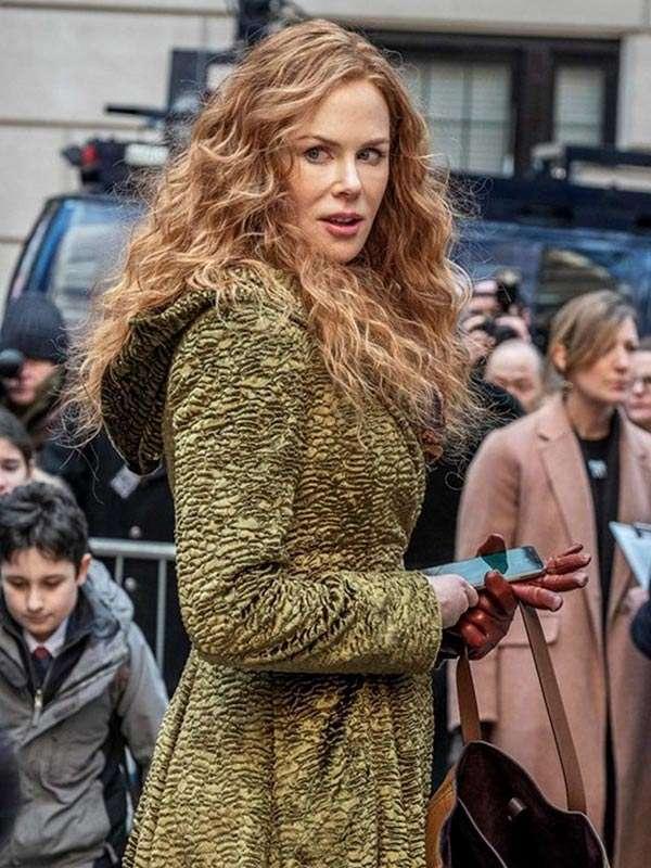 The Undoing S01 Nicole Kidman Green Long Coat