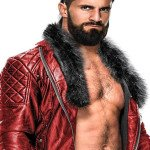 WWE Seth Rollins Quilted Red Leather Jacket