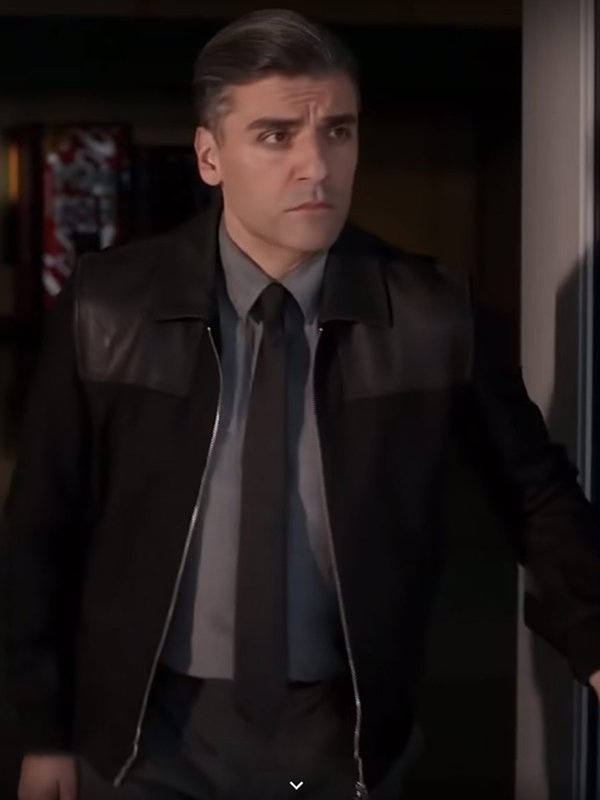 William Tell The Card Counter Oscar Isaac Jacket