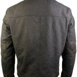 X-Men Wolverine Origins Brown Biker Leather Jacket