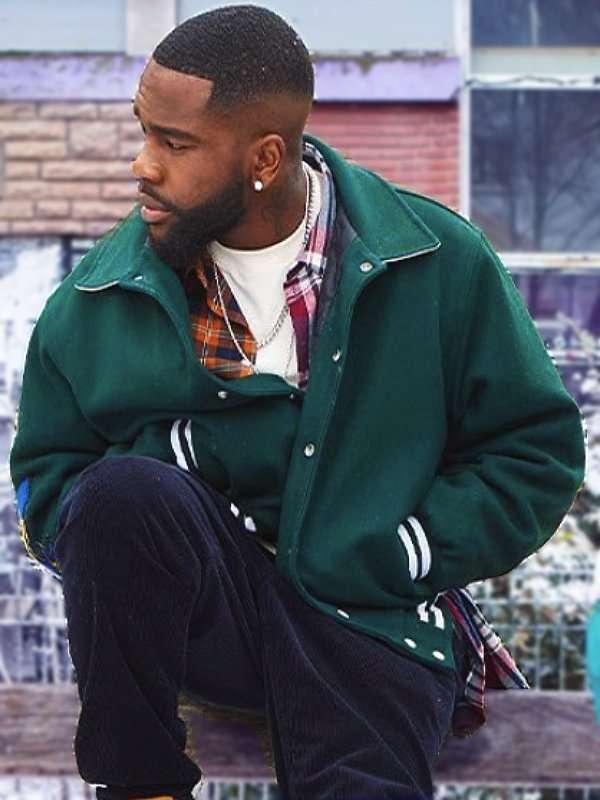 Christmas Flow Tayc Green Jacket