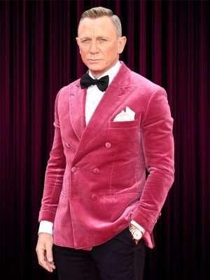 Daniel Craig Pink Jacket Tuxedo