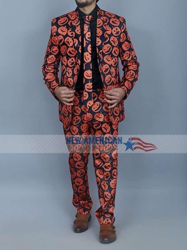 Halloween Suit and Tie