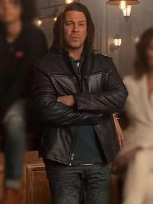 Leverage Redemption Christian Kane Leather Jacket