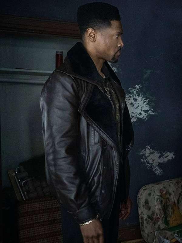London-Brown-Power-Book-III-Black-Leather-Jacket