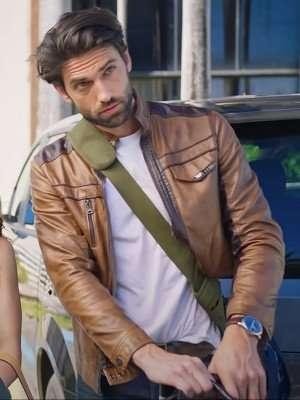 Love Map Ian McCallister Leather Jacket