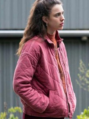 Maid 2021 Margaret Qualley Quilted Jacket