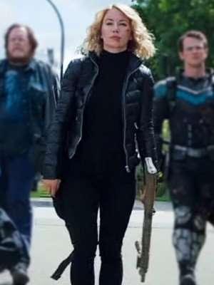 Peacemaker Jennifer Holland Puffer Jacket