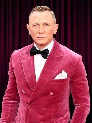 Daniel Craig Pink Tuxedo Jacket