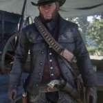 Red Dead Redemption 2 Gunslinger Black Hunting Jacket