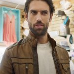 Reed Favero Love Map Leather Jacket