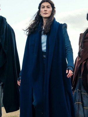 The Wheel Of Time Rosamund Pike Trench Coat