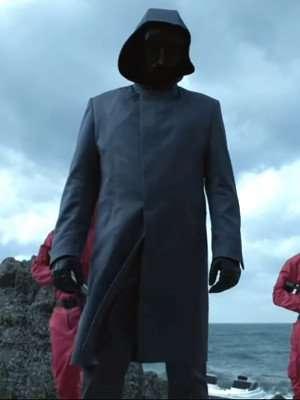 Squid Game Front Man Costume Coat