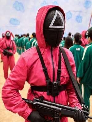 Squid Game Red Costume