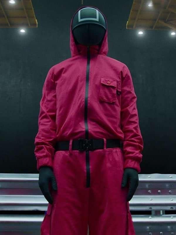 Squid Game Red Jumpsuit
