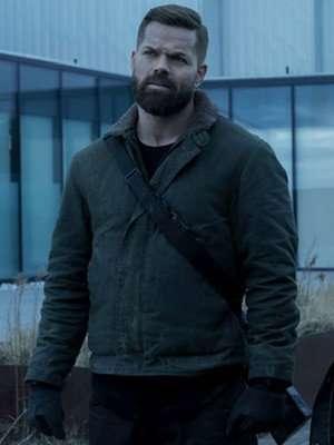 The Expanse Wes Chatham Cotton Jacket