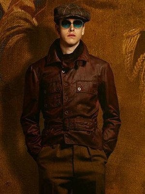 The King's Man 2021 Harris Dickinson Brown Jacket